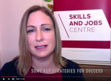 Catherine Oldham, Manager of VU's Skills and Jobs Centre