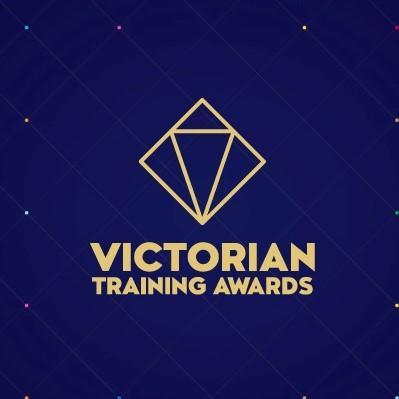 Victorian Training Awards logo.